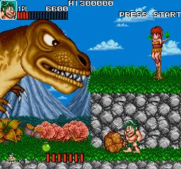 Caveman Ninja (World ver 4)