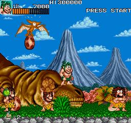 Caveman Ninja (US ver 4)