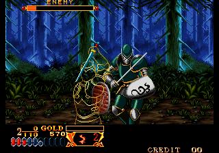 Crossed Swords (ALM-002)(ALH-002)