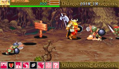 Dungeons & Dragons - shadow over mystara (960619 Japan)