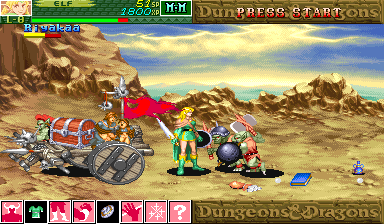 Dungeons & Dragons - shadow over mystara (960206 Japan)