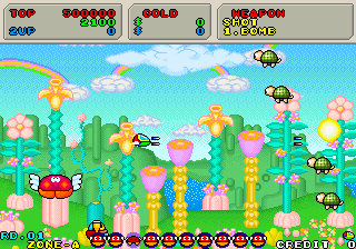 Fantasy Zone II - The Tears of Opa-Opa (System 16C, prototype)