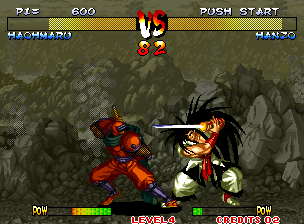 Fighters Swords (Korean release of Samurai Shodown III)