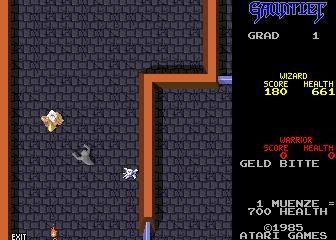 Gauntlet (2 Players, German, rev 1)