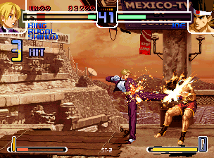 The King of Fighters 2002 (PlayStation 2 ver 0.4, EGHT hack) [Hack]