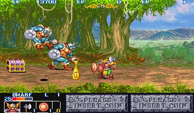 The King of Dragons (Japan 910805, B-Board 89625B-1)