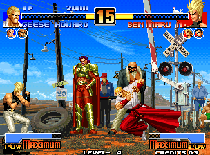 The King of Fighters '96 (Anniversary Edition, EGHT hack) [Hack]