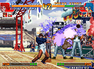 Play Arcade The King Of Fighters 97 Plus 2003 Bootleg Hack