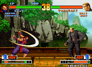 The King of Fighters '98 (Anniversary Edition, EGHT hack) [Hack]
