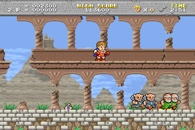Legend of Hero Tonma (Japan)