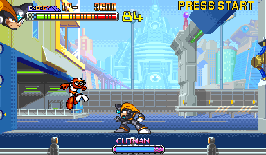 Mega Man 2 - the power fighters (960708 Asia)