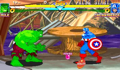 Marvel Super Heroes (951024 Asia)