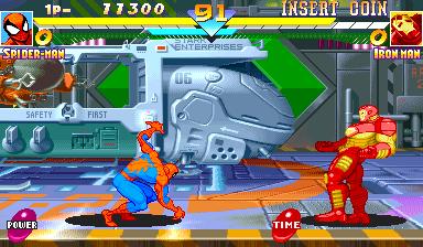 Marvel Super Heroes (951117 Japan)
