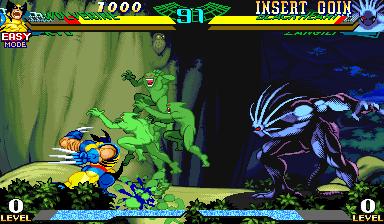 Marvel Super Heroes vs Street Fighter (970625 Euro)