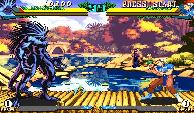 Marvel Super Heroes vs Street Fighter (970620 Asia)