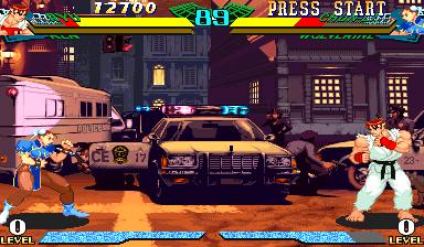 Marvel Super Heroes vs Street Fighter (970625 Brazil)
