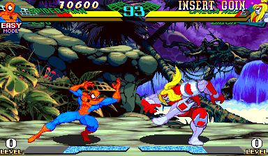 Marvel Super Heroes vs Street Fighter (970625 Hispanic)