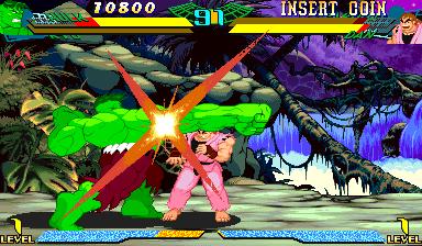 Marvel Super Heroes vs Street Fighter (970625 Japan)