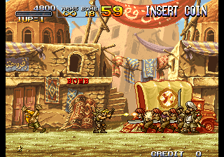 Metal Slug 2 - Super Vehicle-001/II (NGM-2410) (NGH-2410)