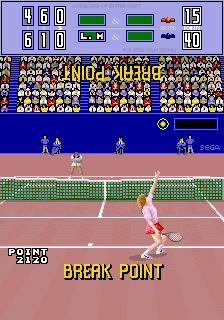Passing Shot (World, 2 Players, FD1094 317-0080)