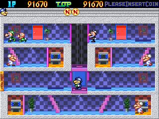 Pipi & Bibis / Whoopee!! (Z80 sound cpu, set 1)
