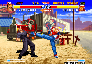 Real Bout Fatal Fury 2 - The Newcomers / Real Bout Garou Densetsu 2 - the newcomers (NGH-2400)