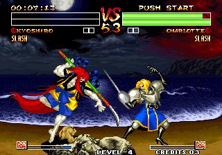 Samurai Shodown IV - Amakusa's Revenge / Samurai Spirits - Amakusa Kourin (NGM-222)(NGH-222)