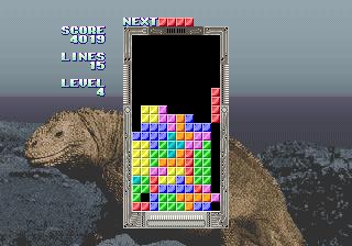 Tetris / Bloxeed (Korean System 16 bootleg) (ISG Selection Master Type 2006)