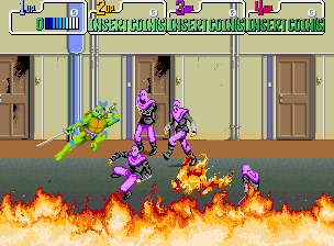 Teenage Mutant Hero Turtles (UK 4 Players, set 1)