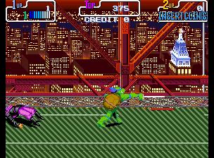 Teenage Mutant Hero Turtles - Turtles in Time (2 Players ver. EBA)