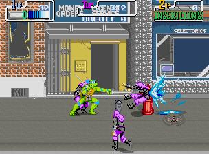 Teenage Mutant Hero Turtles (UK 2 Players, set 2)