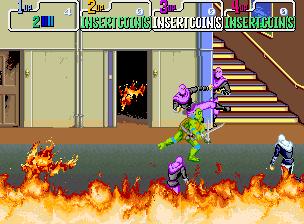 Teenage Mutant Ninja Turtles (World 4 Players)
