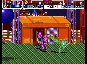 Teenage Mutant Ninja Turtles - Turtles in Time (4 Players ver. UAA)