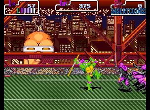 Teenage Mutant Ninja Turtles - Turtles in Time (2 Players ver. UDA)