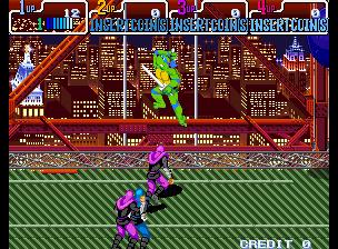 Teenage Mutant Ninja Turtles - Turtles in Time (4 Players ver. ADA)