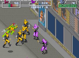 Teenage Mutant Ninja Turtles (Japan 2 Players)