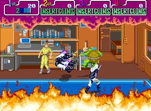 Teenage Mutant Ninja Turtles (Japan 4 Players)