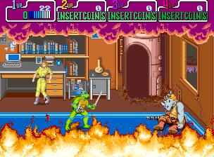 Teenage Mutant Ninja Turtles (US 4 Players, set 1)