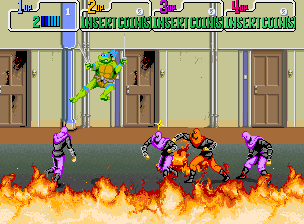 Teenage Mutant Ninja Turtles (US 4 Players, set 2)