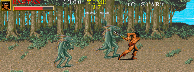 Warrior Blade - Rastan Saga Episode III (Japan)