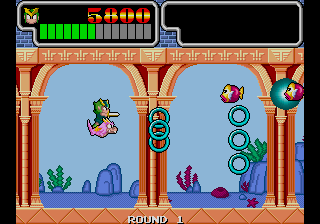 Wonder Boy III - Monster Lair (set 1, Japan, System 16A, FD1094 317-0084)