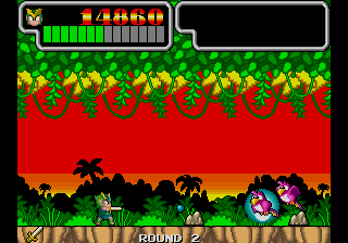 Wonder Boy III - Monster Lair (set 4, Japan, System 16B, FD1094 317-0087)