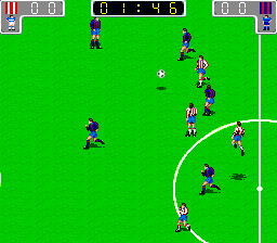 Euro League (Italian hack of Tecmo World Cup '90) [Bootleg]