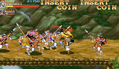 Play Arcade Warriors of Fate (bootleg, 921002 etc ...