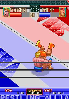 Wrestle War (set 2, World, FD1094 317-0102)