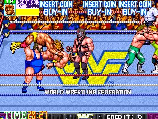 WWF WrestleFest (US Tecmo)