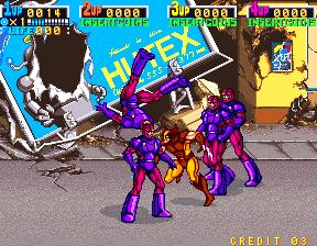 X-Men (4 Players ver AEA)