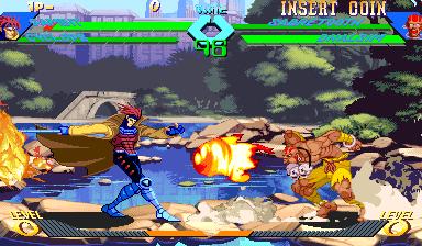 X-Men vs Street Fighter (961023 Asia)