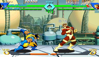 X-Men vs Street Fighter (961004 Hispanic)