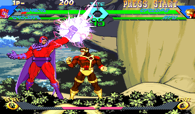 Play Arcade X Men Vs Street Fighter 961023 Usa Online In Your